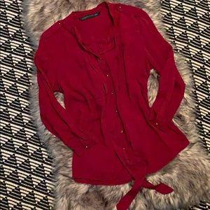 🔥 ZARA WOMAN Buttoned Down Shirt 👚